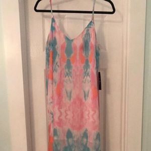 NWT Lulus maxi dress sz M